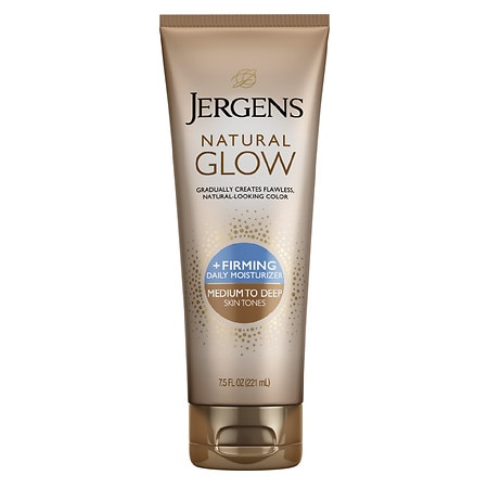 Jergens Natural Glow Firming Daily Moisturizer Medium to Tan Skin Tone