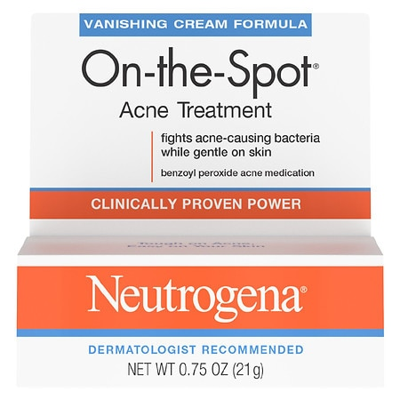 Neutrogena On-The-Spot Acne Treatment Cream - 0.75 oz.