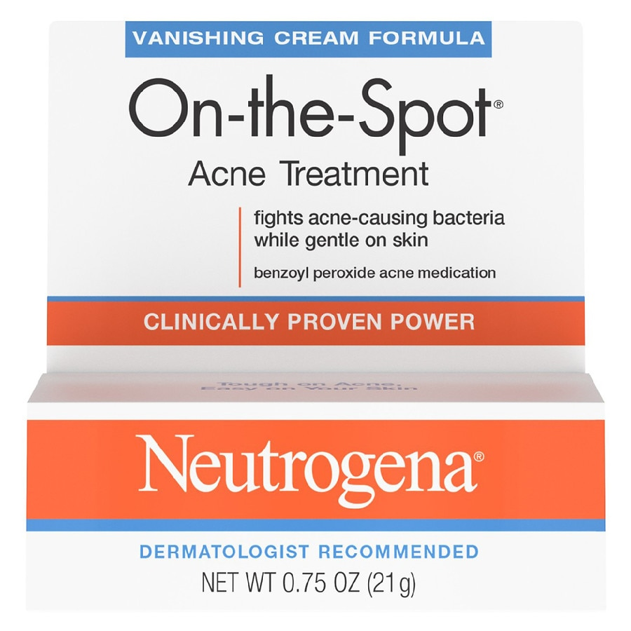 Neutrogena On The Spot Acne Treatment With Benzoyl Peroxide
