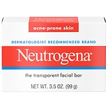 Neutrogena Glycerin Facial Cleansing Bar For Acne-Prone Skin