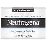 Neutrogena Original Gentle Facial Cleansing Bar With Glycerin Original