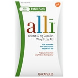 Alli Weight Loss Aid Capsules Refill Pack