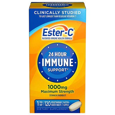 Ester C Vitamin C 1000mg - 120 coated tablets