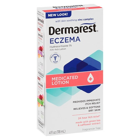 Dermarest Eczema Medicated Lotion Fragrance Free
