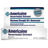 Americaine Hemorrhoidal Ointment, Maximum Strength