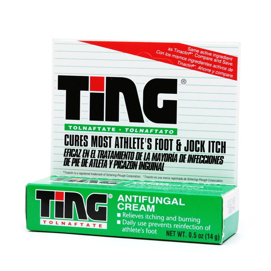 Ting Athlete's Foot and Jock Itch Cream | Walgreens