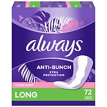 Always Xtra Protection Daily Liners Clean Scent, Long