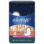 Always Fresh Ultra Thin Active Overnight Pads with Flexi-Wings Scented