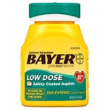Bayer Aspirin Low Dose, 81 mg Safety Coated Tablets