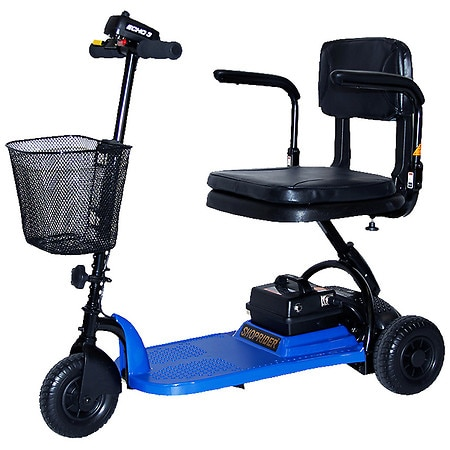 Shoprider ECHO 3-Wheel Mobility Scooter Blue