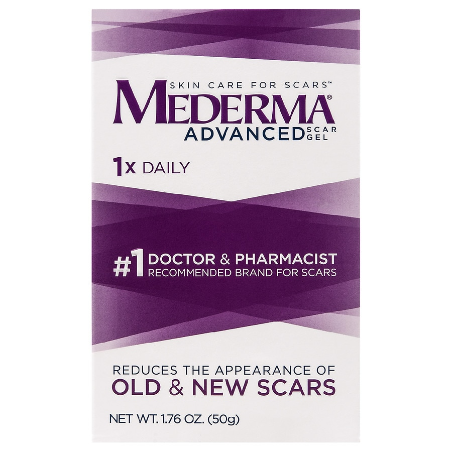 Mederma Advanced Scar Gel Walgreens