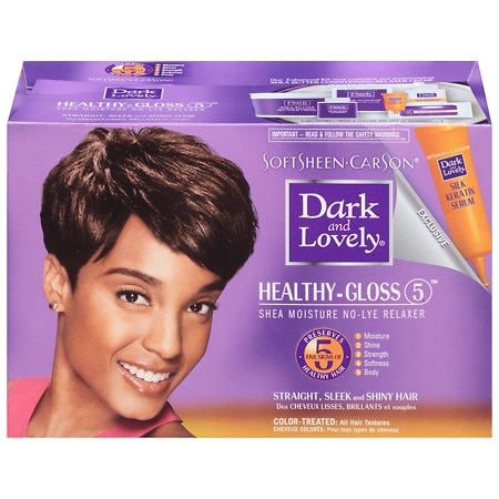 Softsheen Carson Dark And Lovely No Lye Relaxer For Color Treated