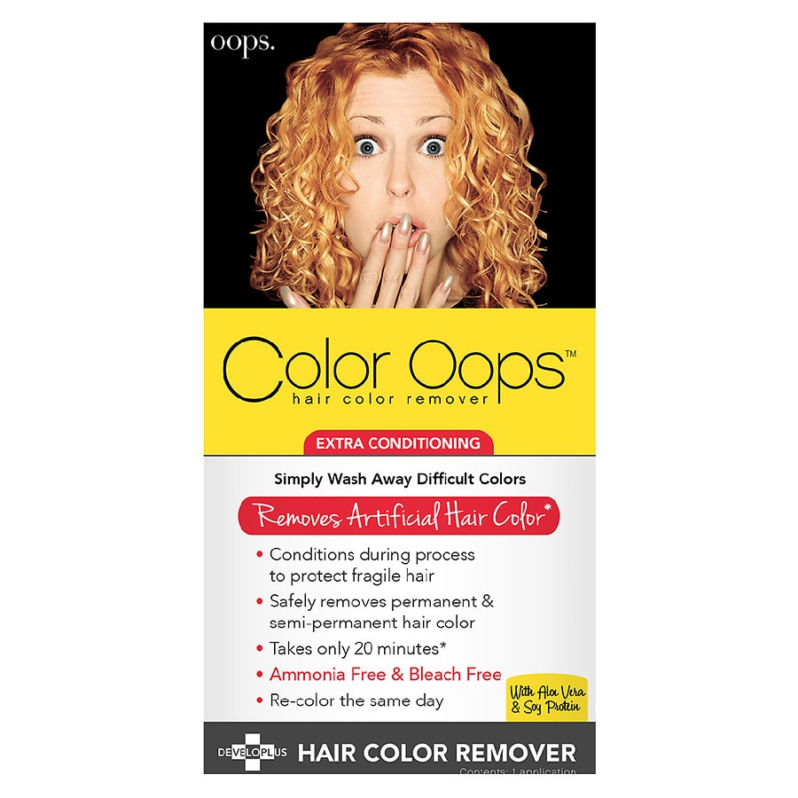 Color Oops Hair Color Remover Extra Conditioning Walgreens
