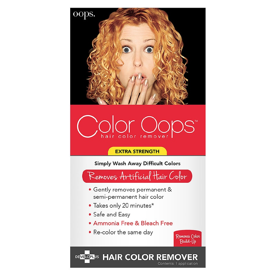 Color Oops Extra Strength Hair Color Remover Walgreens