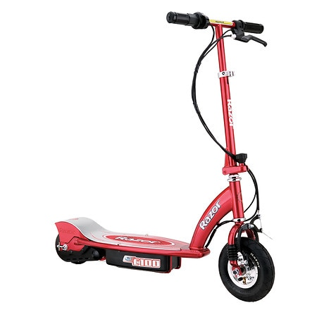 Razor E100 Electric Scooter Red Ages 8+