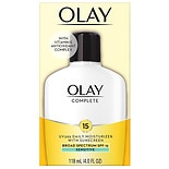Olay Complete Lotion All Day Moisturizer with SPF 15 for Sensitive Skin Fragrance-Free