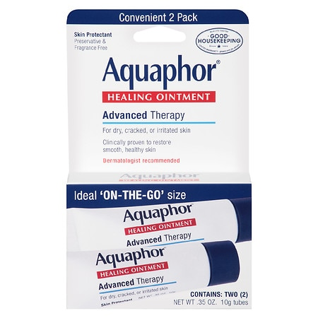 Aquaphor Advanced Therapy Healing Ointment, 2 Pack