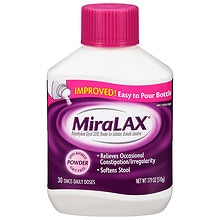 Miralax Laxative Powder Unflavored Walgreens