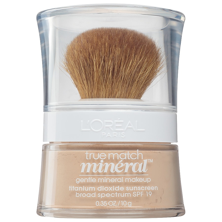 L Oreal Paris True Match Loose Powder Mineral Foundation Makeup Light Ivory 458 Walgreens