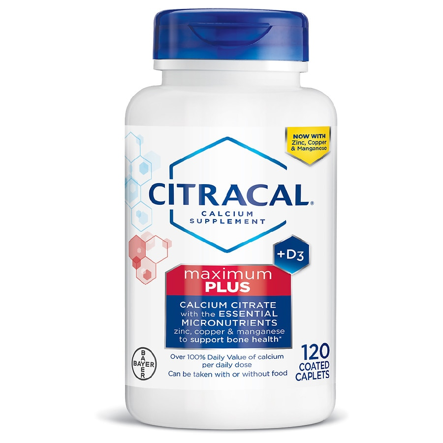 Citracal Maximum Plus Calcium Citrate With Vitamin D3