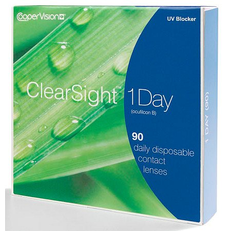 ClearSight (Biomedics) 1 Day 90 pk ClearSight 1 Day 90 pack - 1 Box