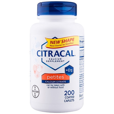 Citracal Calcium Citrate + D Coated Tablets Petites