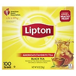 Lipton Lipton Black Tea Bags America's Favorite 100% Natural Tea