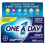 One A Day Men's Health Formula Multivitamin/ Multimineral Supplement Tablets