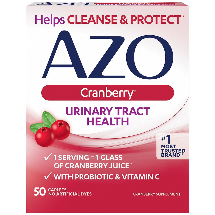 azo cranberry dietary supplement tablets | walgreens