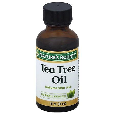 Nature's Bounty Tea Tree Oil Natural Antiseptic - 1 oz.