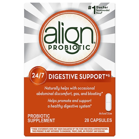 Align Digestive Care Probiotic Supplement Capsules - 28 ea