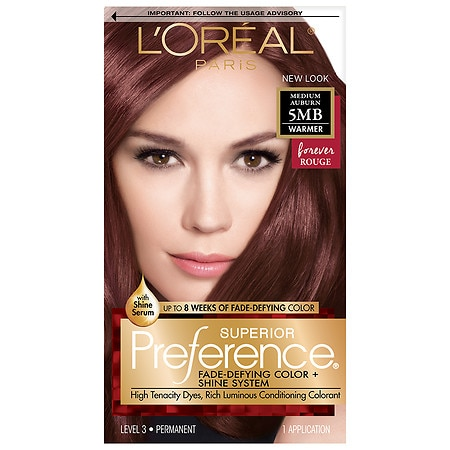 L'Oreal Paris Superior Preference Fade Defying Color & Shine System, Permanent