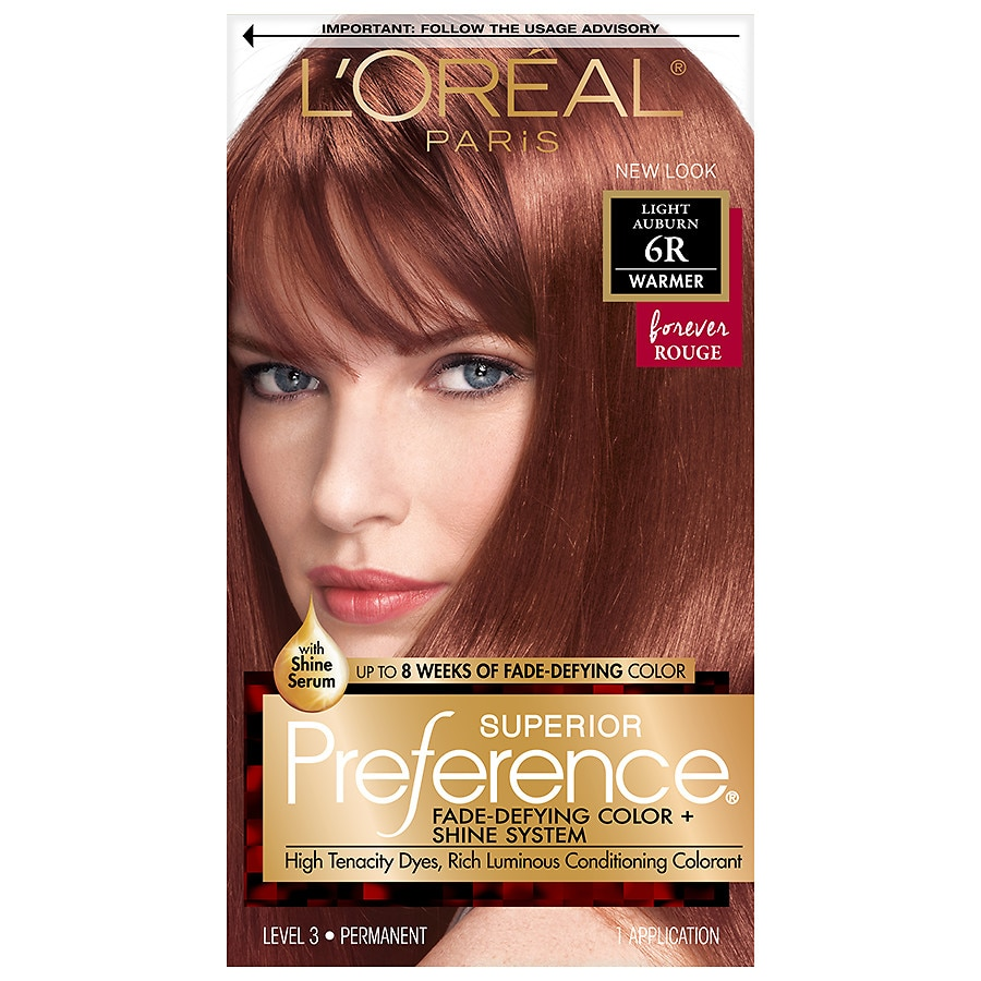 Loreal Paris Superior Preference Permanent Hair Colorlight Auburn