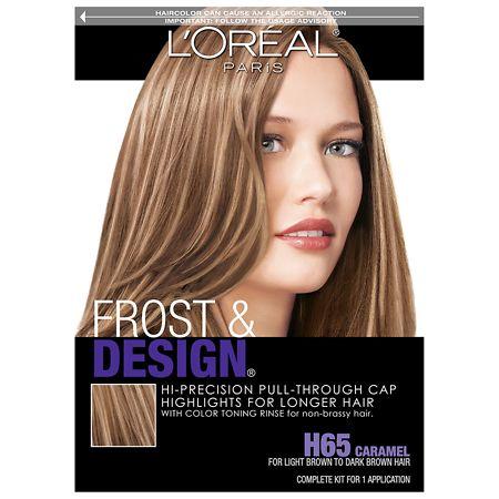 L Oreal Paris Frost Design Cap Hair Highlights For Long Hair H65 Caramel