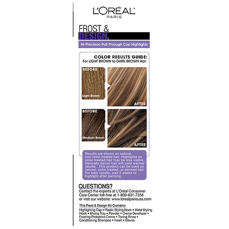 Loreal Paris Frost Design Cap Hair Highlights For Long Hairh65