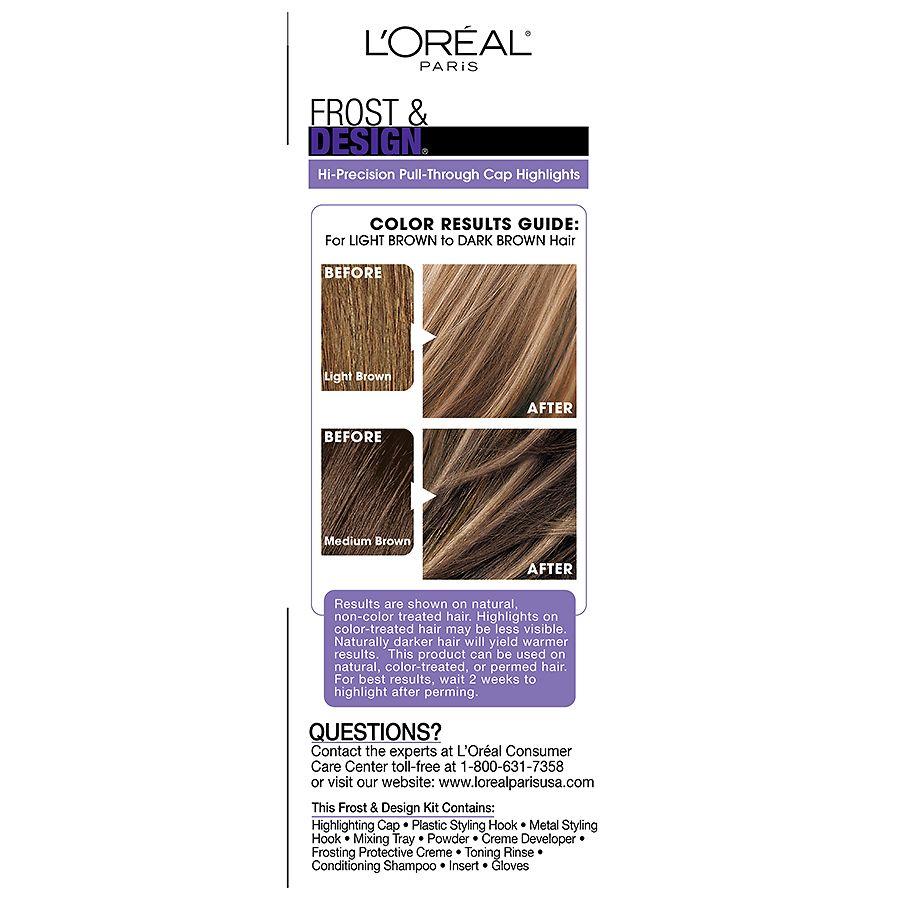 L Oreal Paris Frost Design Cap Hair Highlights For Long Hair H65