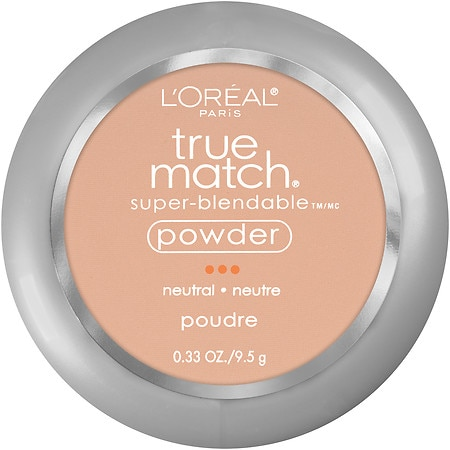 L'Oreal Paris True Match Super-Blendable Makeup Powder - 0.33 oz.