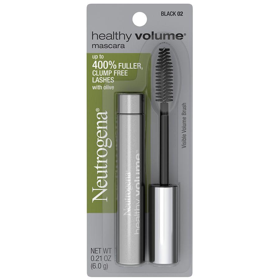 bd0c8a8a7b3 Neutrogena Healthy Volume Mascara, 02 Black | Walgreens