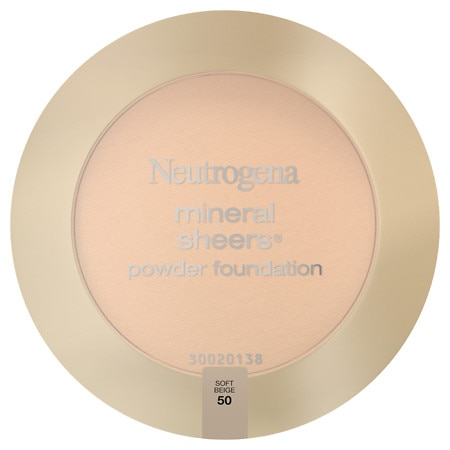 Neutrogena Mineral Sheers Powder Foundation - 1 ea