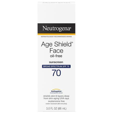 Neutrogena Age Shield Face, Sunscreen Lotion, SPF 70 - 3 fl oz