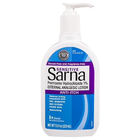 Sarna Sensitive, Anti-Itch Lotion Fragrance-Free