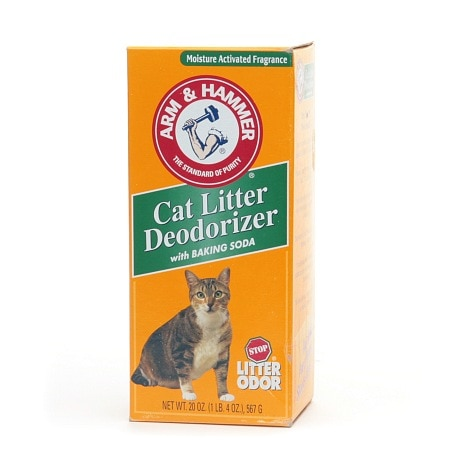 Arm & Hammer Cat Litter Deodorizer With Baking Soda 20 Oz.