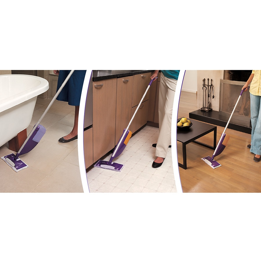 Swiffer Wetjet Wood Floor Cleaner Solution Refill Walgreens