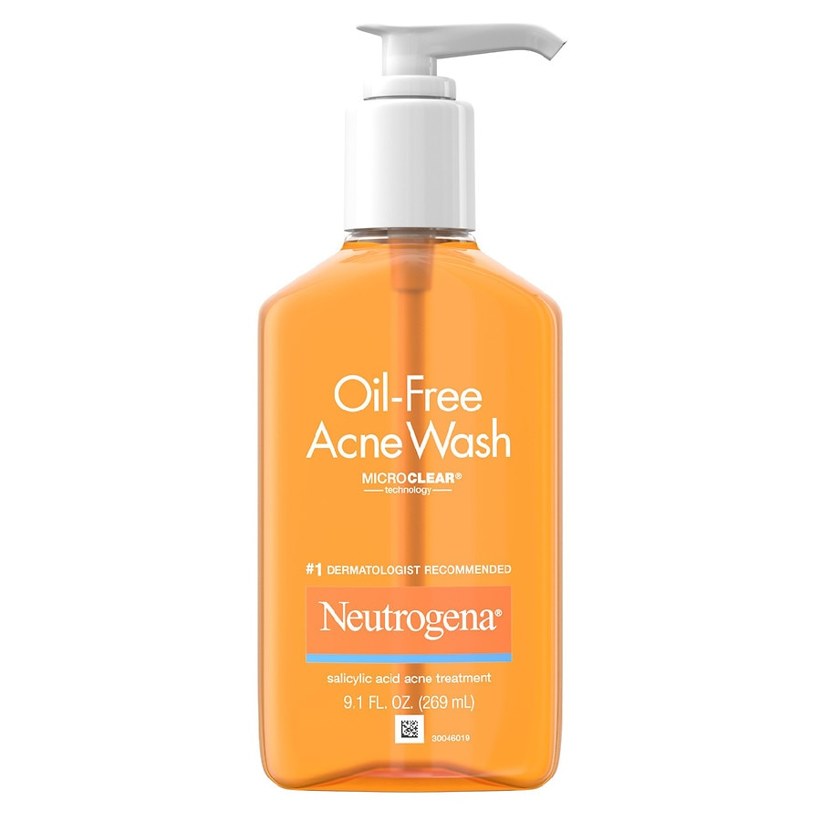 neutrogena acne wash