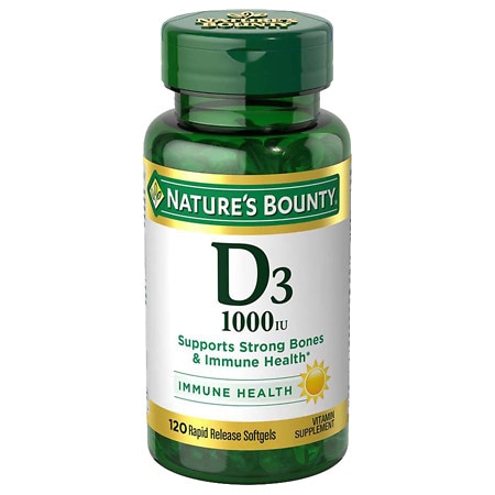 nature 39 s bounty d3 1000 iu dietary supplements softgels. Black Bedroom Furniture Sets. Home Design Ideas