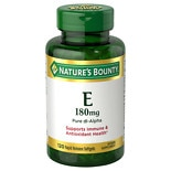 Nature's Bounty E-400 IU, Pure dl-Alpha, Softgels