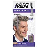 Just For Men Touch of Gray Haircolor Light Brown - Gray T-25