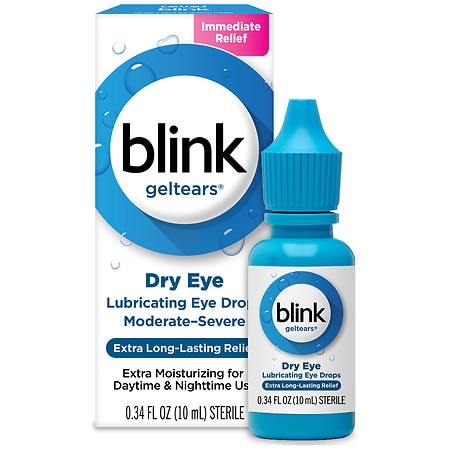 Blink Gel Tears Lubricating Eye Drops