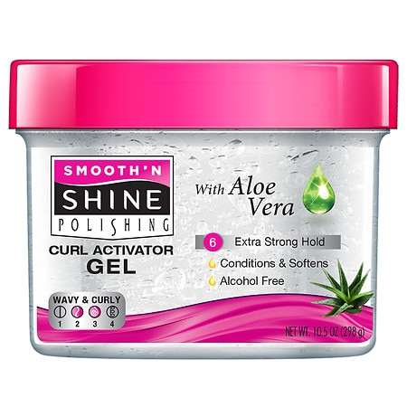 Smooth 'n Shine Polishing Curl Activator Gel for Extra Dry Hair