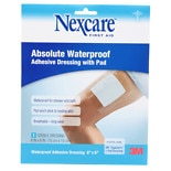 Nexcare Absolute Waterproof Adhesive Dressing wtih Pad 6 x 6 inches